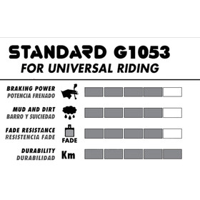 GALFER BIKE Standard Bremsbelag Avid BB7, Juicy 3/5/7/Ultimate/Carbon